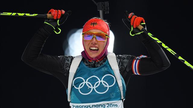 Дальмайер взяла золото в олимпийском спринте