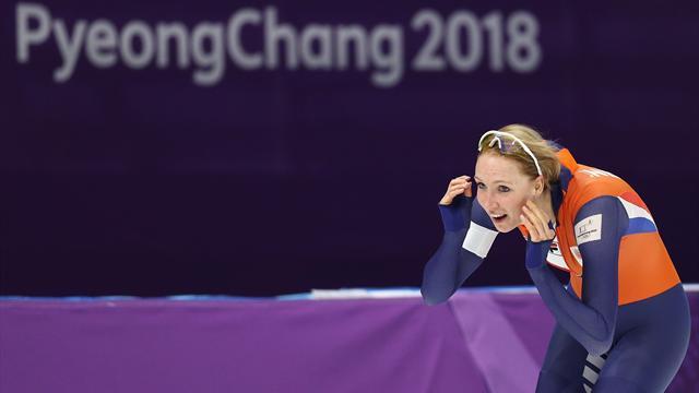 Un premier triplé et les Pays-Bas débutent leur razzia en patinage de vitesse