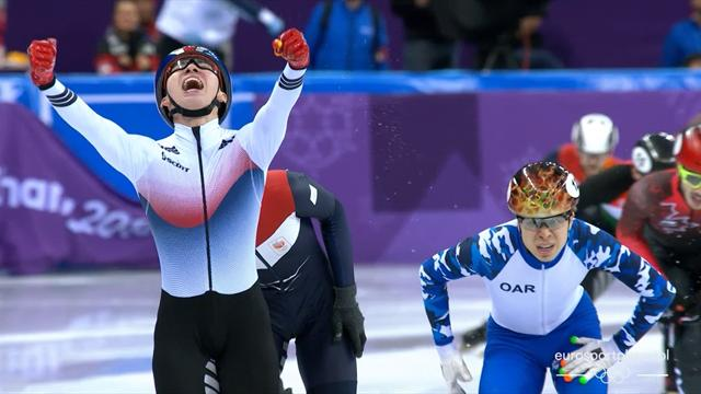 Ev sahibi Güney Kore altın madalyayla tanıştı