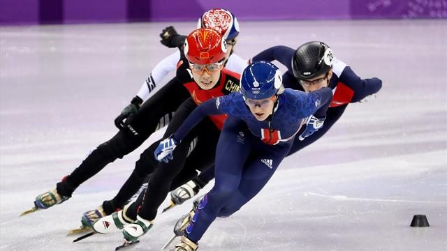 Team GB's Elise Christie: 'I made statement in first round'
