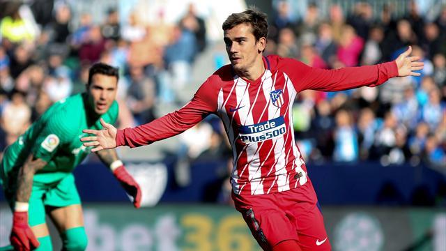 LaLiga Málaga-Atlético Al tran tran