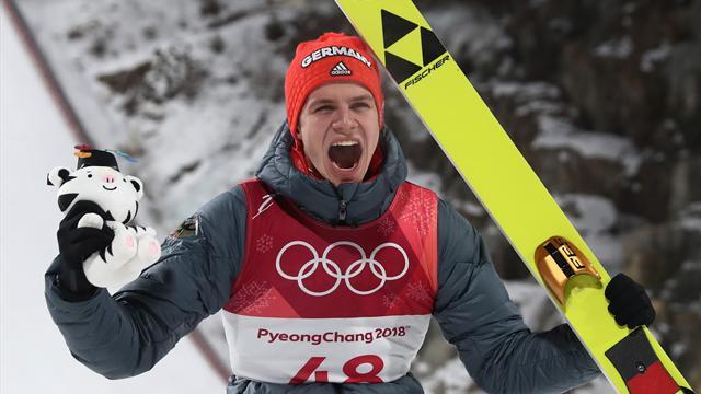 Gänsehaut pur: Wellingers erstes Olympia-Gold im Rückblick