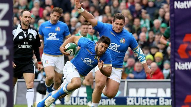 L'Irlanda non ha pietà: 56-19 contro l'Italia che si sveglia solo nella ripresa