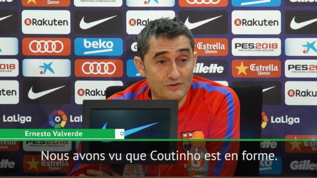 Valverde : «Coutinho va dans la bonne direction»