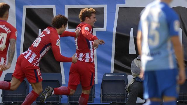 Griezmann offre la victoire à l'Atlético