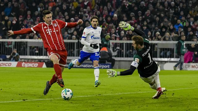 Lewandowski egalisiert historischen Heynckes-Rekord