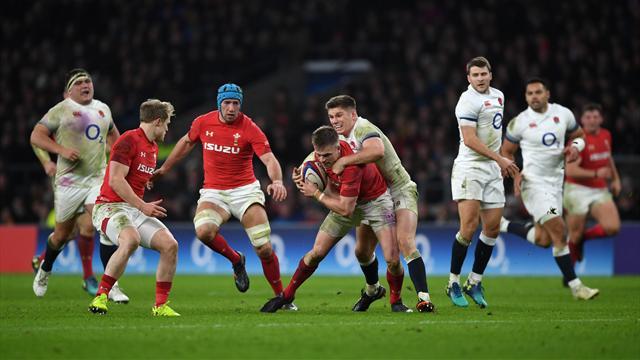 Farrell è magico, il Galles non replica: l'Inghilterra vince 12-6 a Twickenham