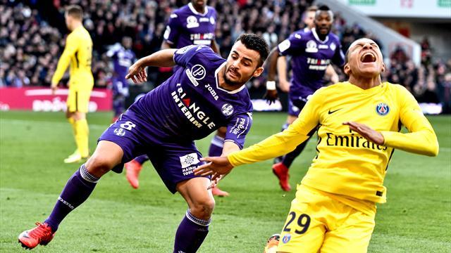 Quand le grand écran du Stadium de Toulouse trolle les supporters du PSG