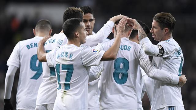 LaLiga, Real Madrid-Real Sociedad: ¡Ya están aquí! (5-2)