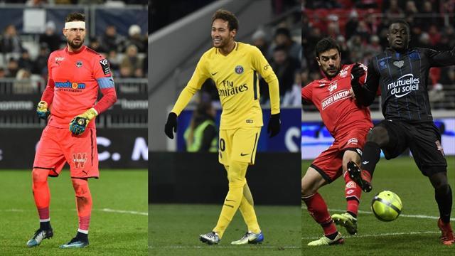 Bordeaux en forme, Neymar en feu, Nice en faute : les tops et les flops de samedi