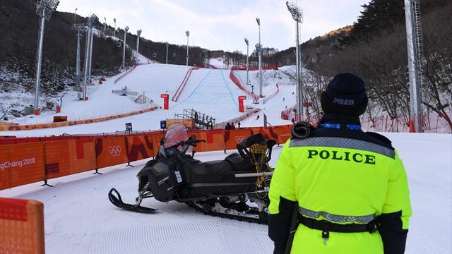 La descente messieurs reportée à jeudi — Ski alpin