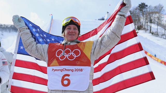Kış olimpiyatlarının 2000 doğumlu ilk şampiyonu Redmond Gerard