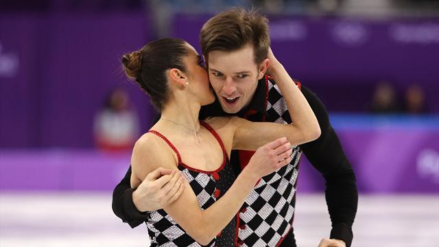 Aliona Savchenko e Bruno Massot grandi favoriti nelle coppie: l'Italia sogna il podio