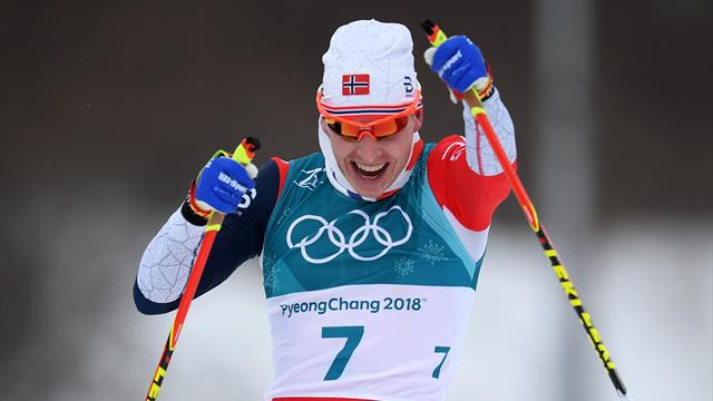 Musgrave finishes seventh as Norway sweep men's skiathlon