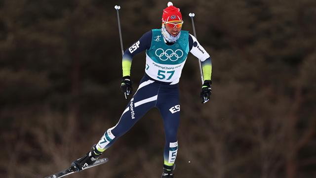 Imanol Rojo abre la participación española con un 49 puesto en el esquiatlón