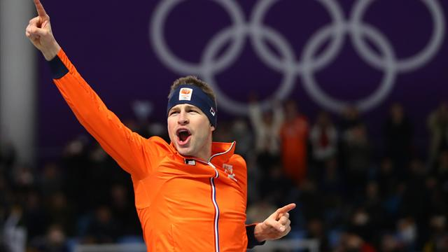 Dutchman Kramer claims third straight 5,000m gold, sets Olympic record
