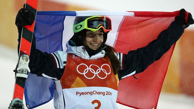 Fransa'nın ilk madalyası serbest stil kayakta Laffont'un altınıyla geldi