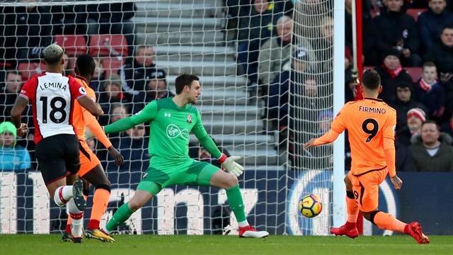 Liverpool move into third with win over Southampton
