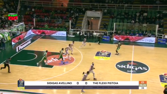 Highlights: Sidigas Avellino-The Flexx Pistoia 101-71