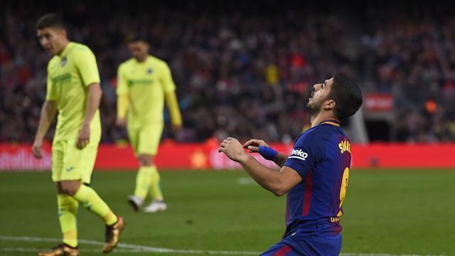 Le Barça muet pour la première fois de la saison en Liga