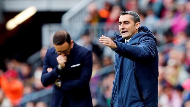 """Valverde: """"Nos ha faltado un poco de chispa para poder hacer algo más"""""""