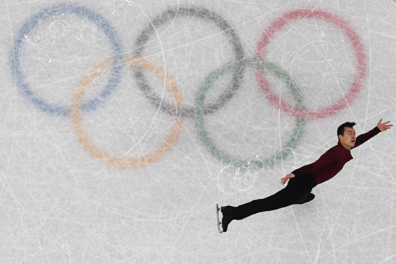 Patrick Chan lors des JO de Pyeongchang