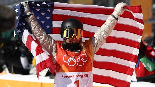 Sacrée en slopestyle, Anderson reste dans le vent