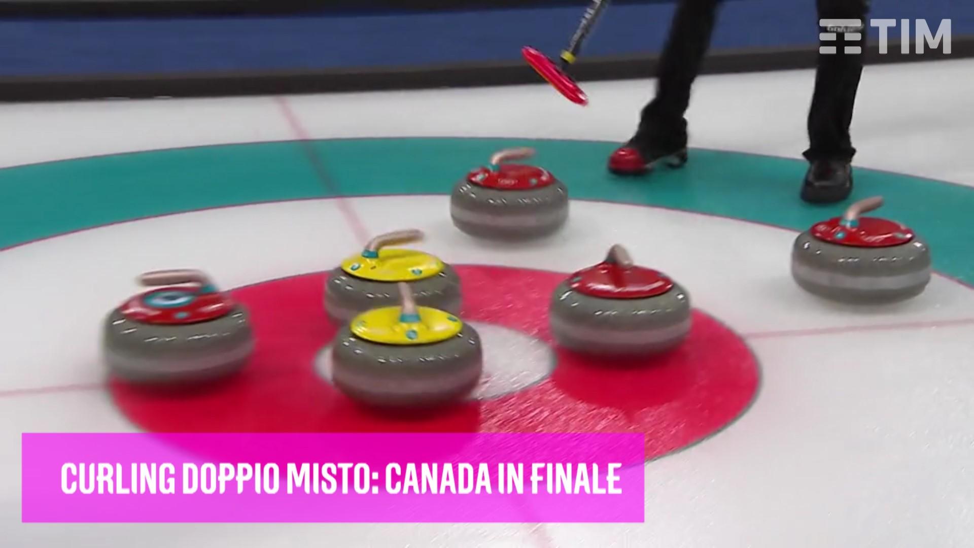 Curling Canada vs Norvegia