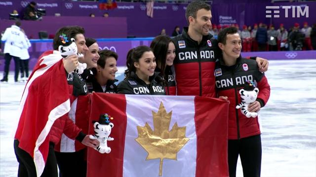 Kanada'nın ilk altın madalyası artistik buz pateninde geldi