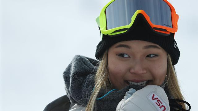 Winter Olympics: Chloe Kim wins gold in snowboard halfpipe