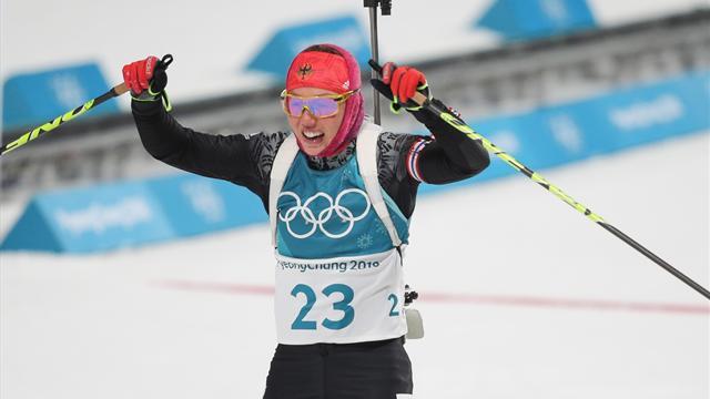JO-2018 / Biathlon. Le bronze pour Anaïs Bescond, le doublé pour Dahlmeier !