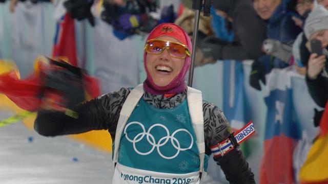 PyeongChang 2018 Kış Olimpiyatları: Kadınlar biatlon 10 kilometre takip