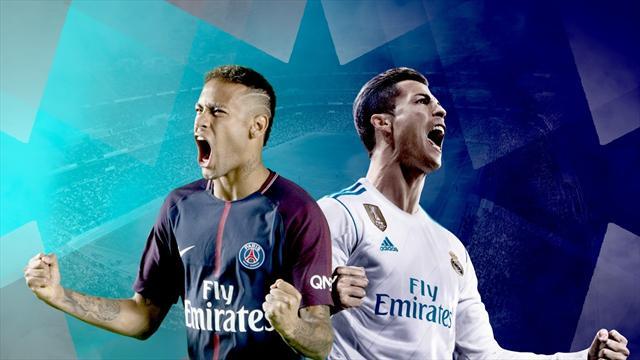 Pour Ronaldo et Neymar, ce PSG-Real est aussi crucial pour le Ballon d'Or