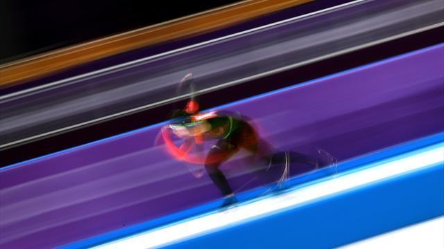 Liu Shaolin negyeddöntős 1000 méteren, Liu Shaoangot kizárták