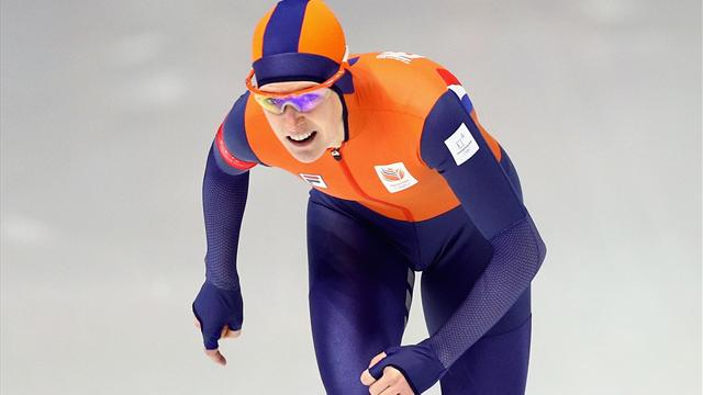 Wust powers to speed skating 1,500m gold for record 10th medal