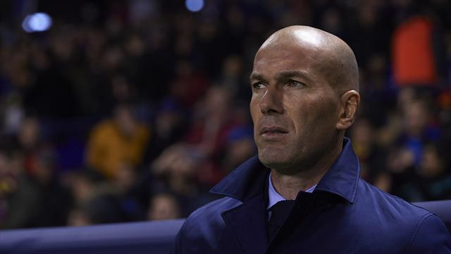 Zidane not worried about future before crunch PSG tie