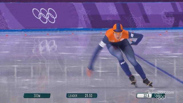 PyeongChang 2018 Kış Olimpiyatları: Kadınlar 1500 metre sürat pateni yarışı