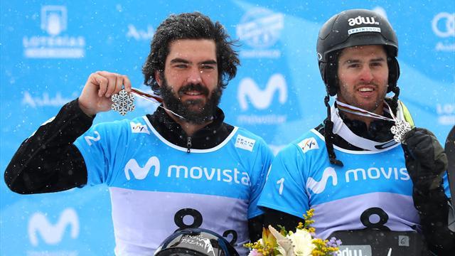 Regino, Eguibar y Castellet, a por las medallas en los Mundiales de snowboard y freestyle de Utah