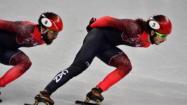Канадец Жирар выиграл золото в шорт-треке на дистанции 1000 м, Елистратов не пробился в финал
