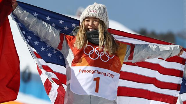Eurosport Advent Calendar: Watch Chloe Kim's outrageously good final half-pipe run at the Olympics