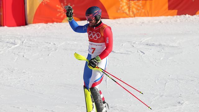 JO de Pyeongchang : l'argent et le bronze en combiné alpin !