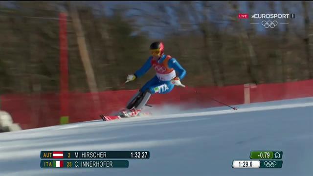 Christof Innerhofer solo 14° dopo la slalom: rivivi la sua discesa