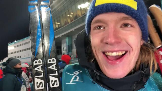 """""""Jag vill tacka mamma"""" – OS-debutanten Samuelsson efter skrällsilvret"""