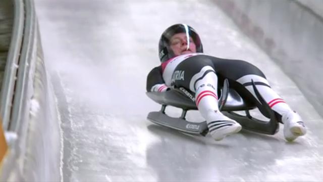 El sobrecogedor accidente de la austriaca Birgit Platzer, su trineo salió volando