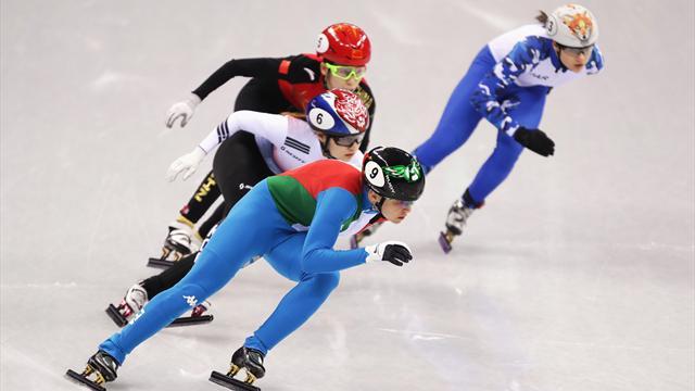 Arianna Fontana in finale nei 500 metri