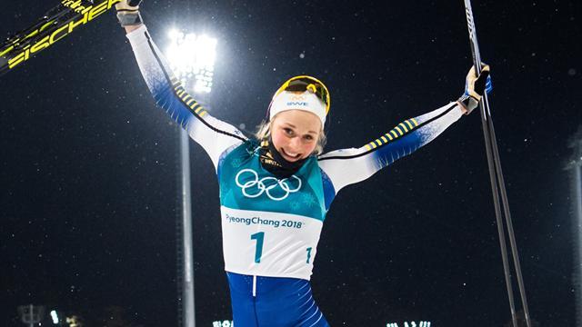Stina Nilsson guldmedaljör i överlägsen stil