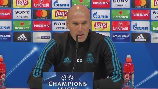 """Zidane : """"Il n'y a pas de pression particulière"""""""