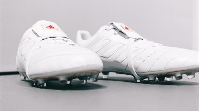 adidas презентовал ядерно-белые бутсы, после удара которыми мяч сам полетит в ворота