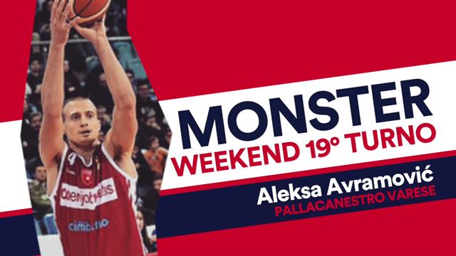 """Monster weekend: Brescia non è più capolista, """"colpa"""" di un grande Aleksa Avramovic"""