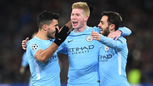 Manchester City rullo compressore: 4-0 a Basilea e quarti in tasca